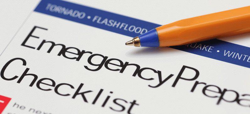 emergency plan, fire emergency plan, flood emergency plan